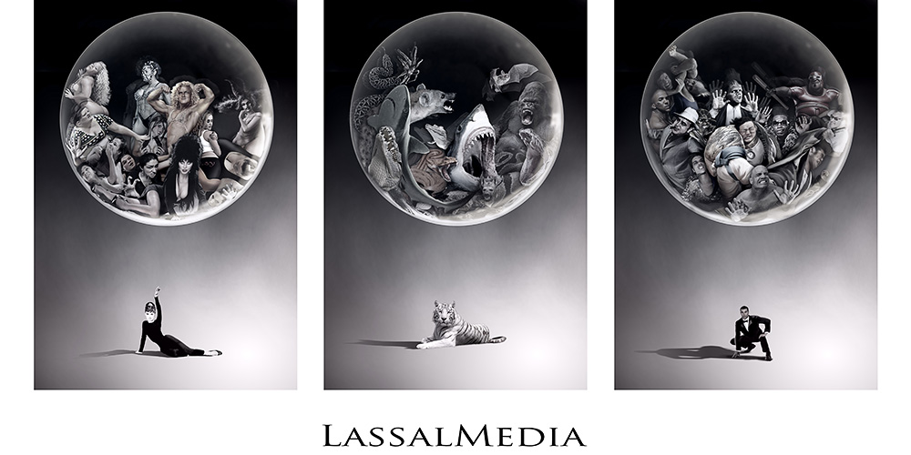 "LassalMedia – photorealistic layout illustrations as part of a montage for a pitch nicknamed ""bad boys"""