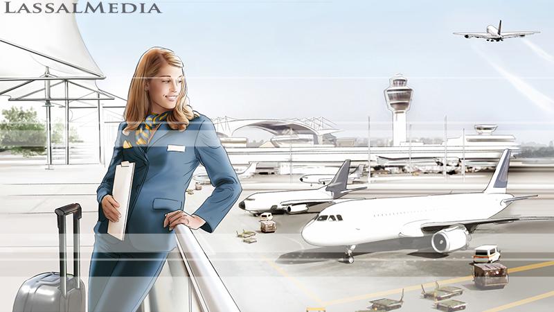LassalMedia – key visual for a Commerzbank image campaign.