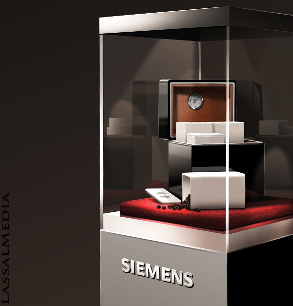 LassalMedia – Optimizing 3D Renderings for Product Visualization / Siemens-Humidor Image 05