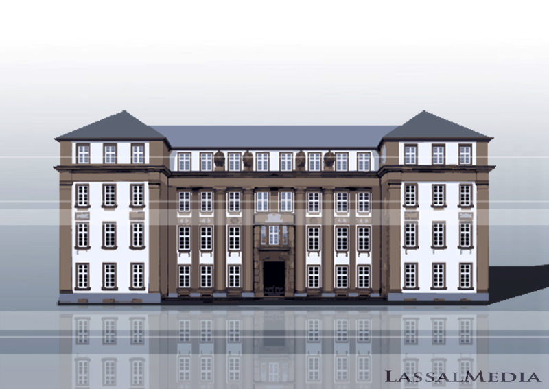 LassalMedia – Vectorized Architecture for the Frankfurter Anwaltsverein / Building 5