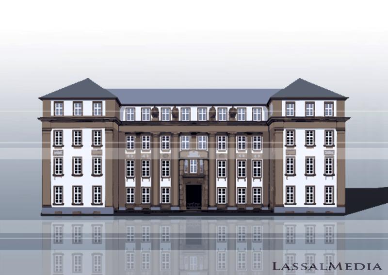 LassalMedia – Vectorized Architecture for the Frankfurter Anwaltsverein / Building 5