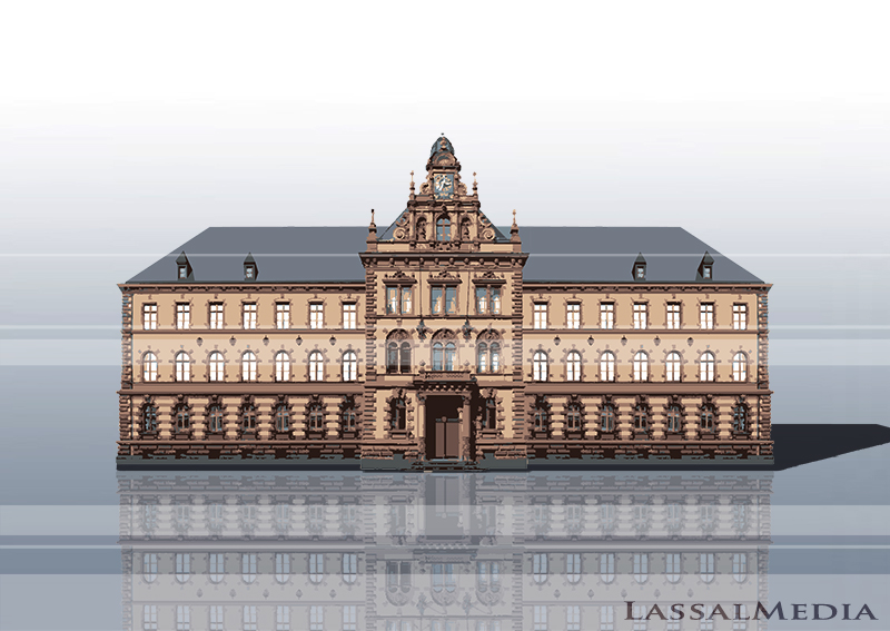 LassalMedia – Vectorized Architecture for the Frankfurter Anwaltsverein / Building 3