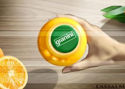 LassalMedia, animatic for Granini Orange.