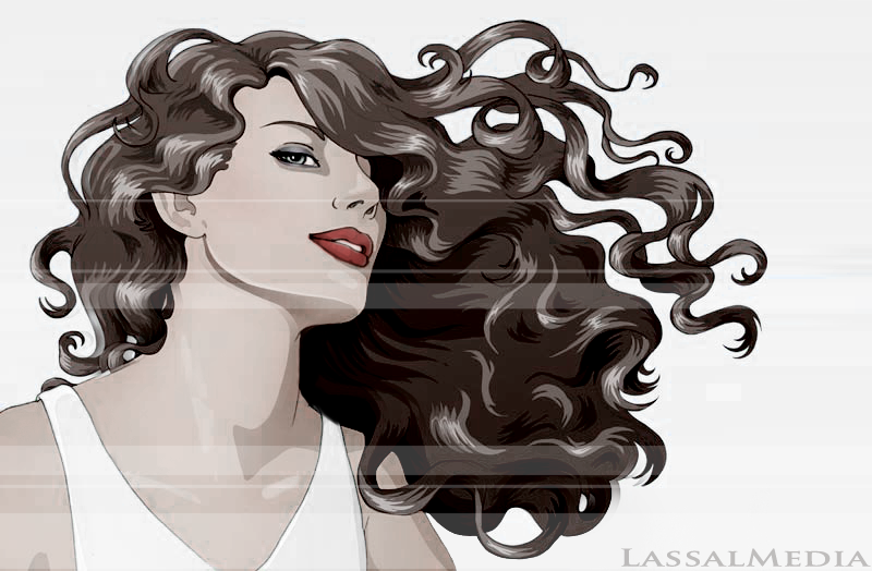 LassalMedia, KeyVisual for Guhl Haircare.