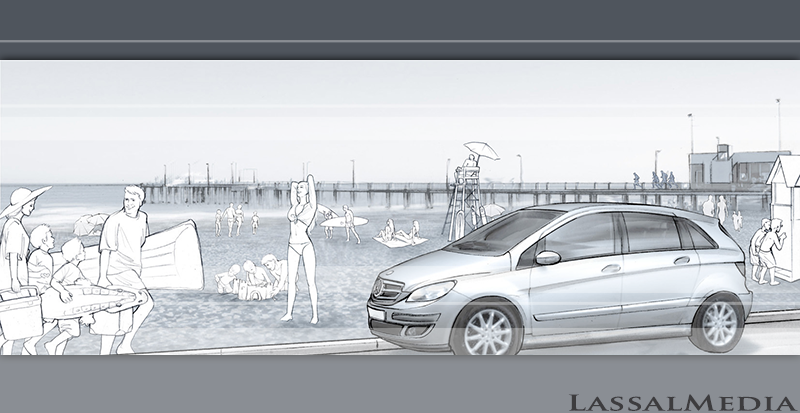 LassalMedia, Key Visual for Mercedes Benz.