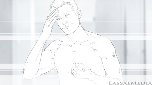 LassalMedia Nivea for Men Storyboard-mind10