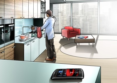 LassalMedia, quick storyboard illustrations for Vodafone (pitch)
