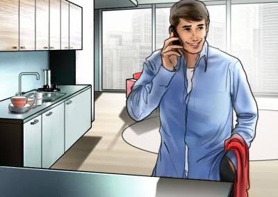 LassalMedia, quick storyboard illustrations for Vodafone (pitch)