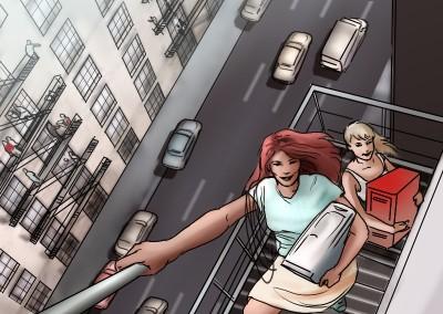 LassalMedia, quick storyboard illustrations for Vodafone (pitch)04