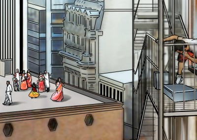 LassalMedia, quick storyboard illustrations for Vodafone (pitch)06