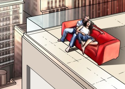 LassalMedia, quick storyboard illustrations for Vodafone (pitch)-13