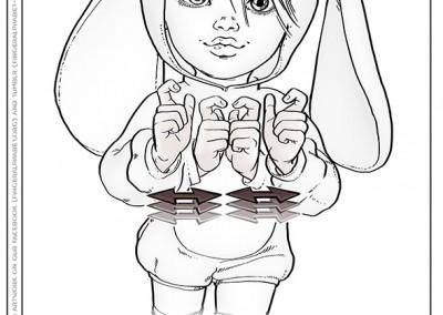 "Lassal for Fingeralphabet.org -€"" Paint It #04"