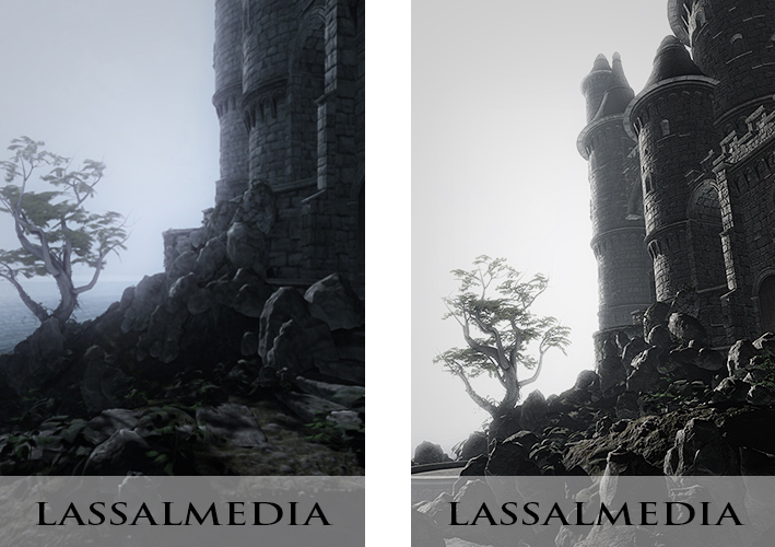 LassalMedia: Fantasy Backdrop for a book campaign