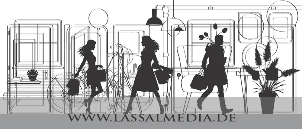 LassalMedia – Vector Graphics for the decoration of an exhibition stand (beauty & make-up)