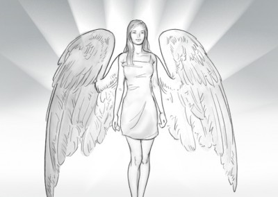 Angels, Storyboard Frames for Nivea