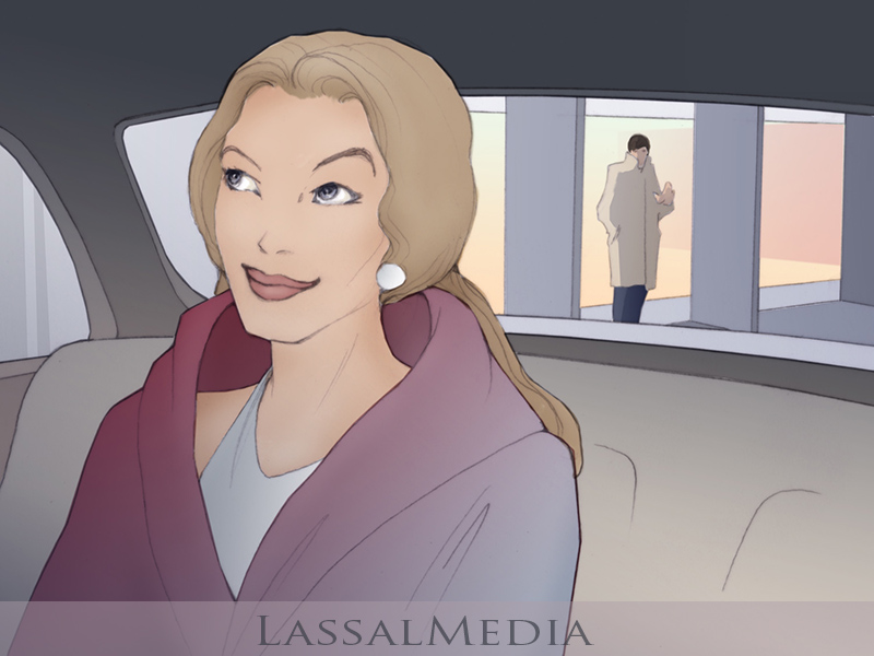 LassalMedia, Ferrero Mon Cheri, old storyboard style sample image
