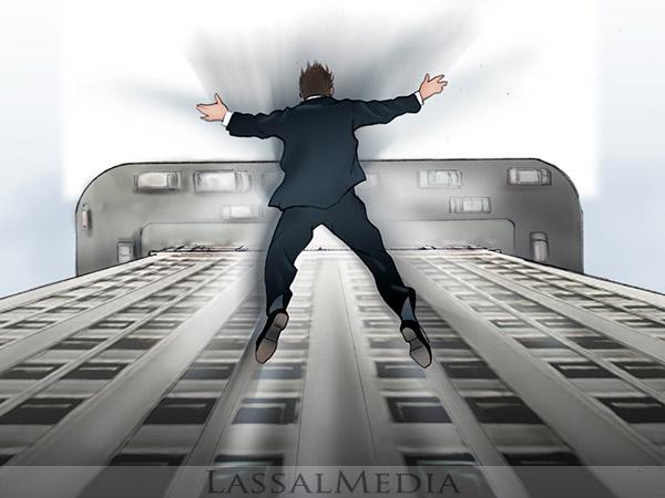 LassalMedia, Storyboard image for a HDTV campaign.