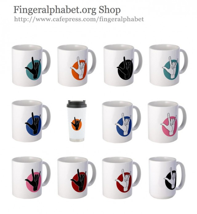 Designs for Fingeralphabet-org shop