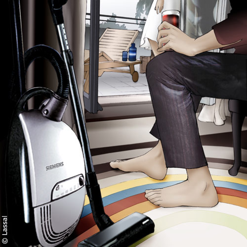 LassalMedia – Key Visual for Siemens (vacuum cleaner)