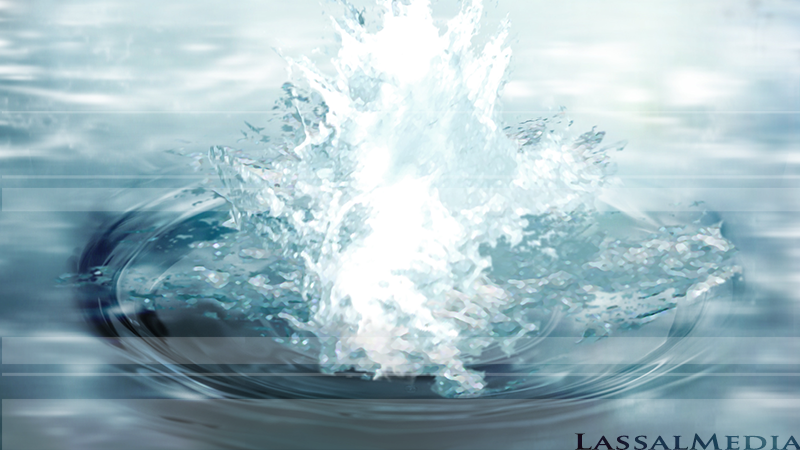 LassalMedia – Sample images from an animatic for Multibionta (work-in-progress) Water splash