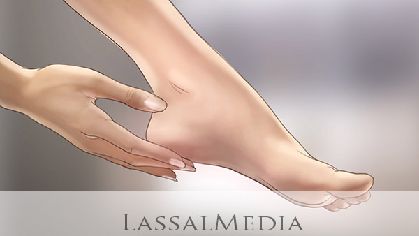 LassalMedia- Storyboard with Hand & Foot Illustration for Scholl