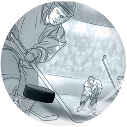 Storyboard for Nivea for Men (Beiersdorf) – Ice Hockey Theme