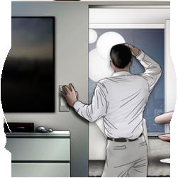 Storyboard Sample Frames for Siemens