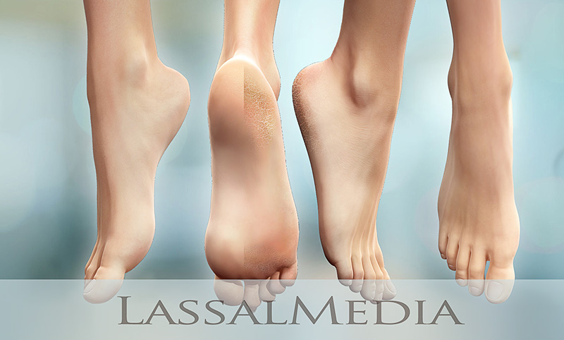 LassalMedia - Photorealistic Feet Animation Layers for Scholl (2015, Havas Worldwide)