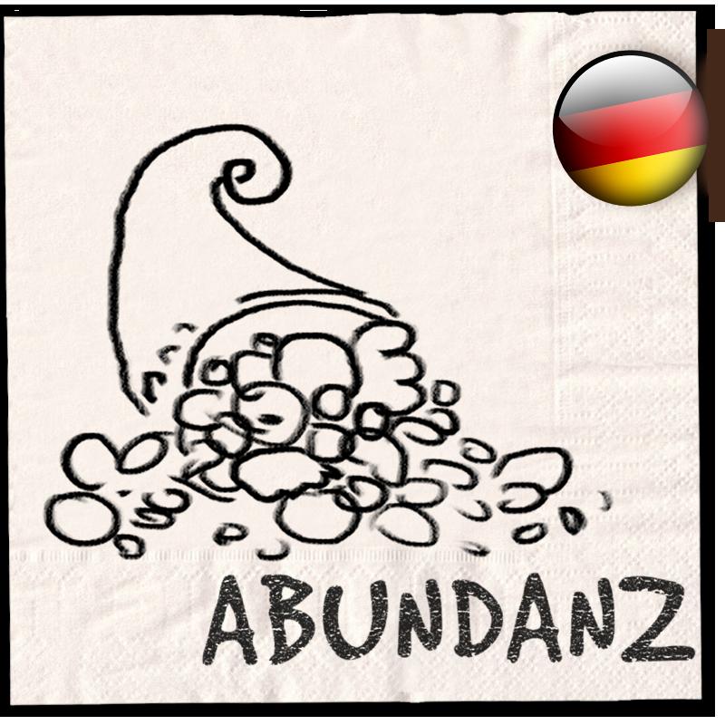 Serviette 04 – Wofür steht das Konzept der Abundanz?