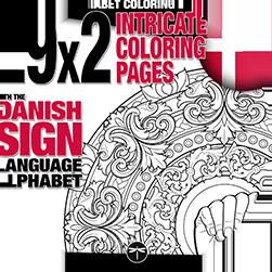 Fingeralphabet Coloring Books